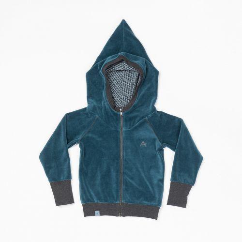7705c04f617 AlbaBaby Habian Zipper Hood Legion Blue