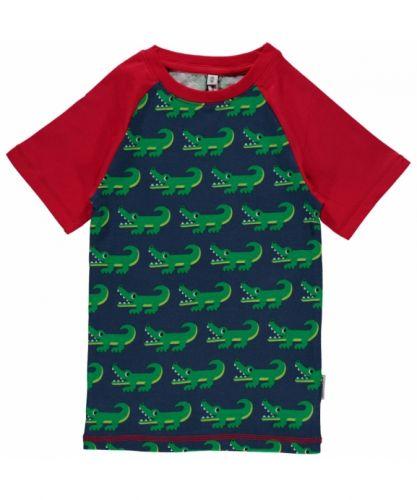 maxomorra Top LS walross T-Shirt Biobaumwolle