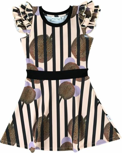 Dancing in the Grass Dress Striped Stingray