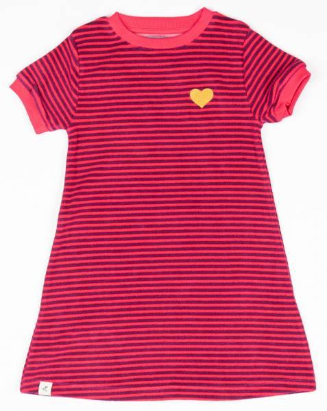 Albababy Vida Dress Raspberry Magic Stripes