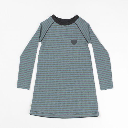 5dc63bd633d Albababy Alberte School Dress Bluestone Striped