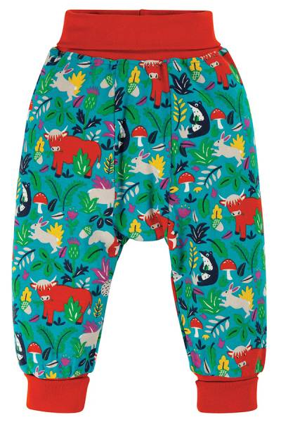 Frugi Parsnip Pants Woodland Critters